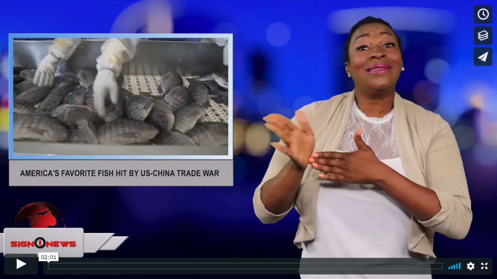 Sign 1 News with Candace Jones - America's favorite fish hit by US-China trade war (6.27.19)