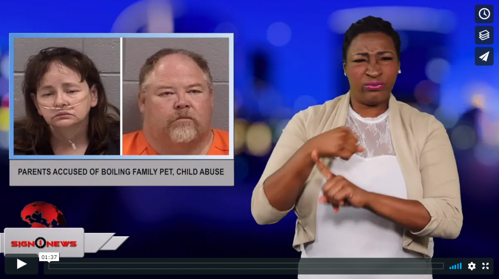 Sign 1 News with Candace Jones - Parents accused of boiling family pet, child abuse (6.27.19)