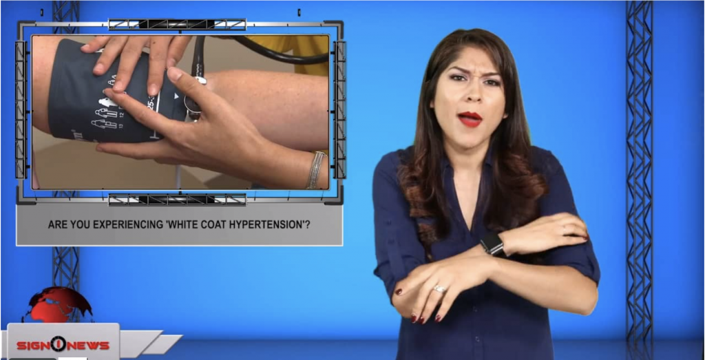 Sign1News anchor Crystal Cousineau - Are you experiencing 'white coat hypertension'