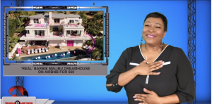 Sign1News anchor Candace Jones - 'Real' Barbie Malibu Dreamhouse on Airbnb for $60 (ASL - 10.18.19)