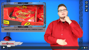 Sign 1 News with Jethro Wooddall - Reese's Cups most popular Halloween candy (ASL - 10.13.19)