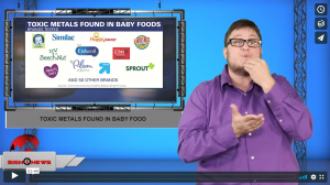 Sign 1 News with Jethro Wooddall - Toxic metals found in baby food (ASL - 10.22.19)