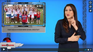 Sign 1 News with Crystal Cousineau - FSDB dazzles in Sign1News school Shoutout! (ASL - 11.8.19)
