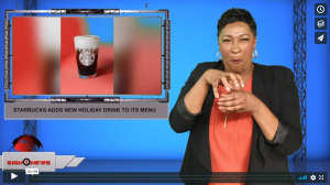 Sign 1 News with Candace Jones - Starbucks adds new holiday drink to its menu (12.4.19)