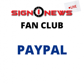 JOIN FAN CLUB PAYING WITH PAYPAL